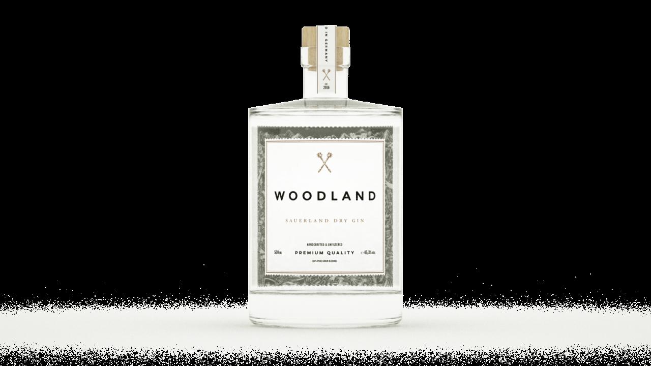 Woodland Gin Flasche